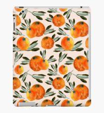 Sonnige Orange iPad-Hülle & Skin