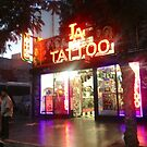 Hollywood Tattoo Shop by Laurie Allee
