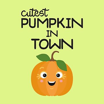 Cutest Halloween Pumpkin horror-Design by ilovecotton