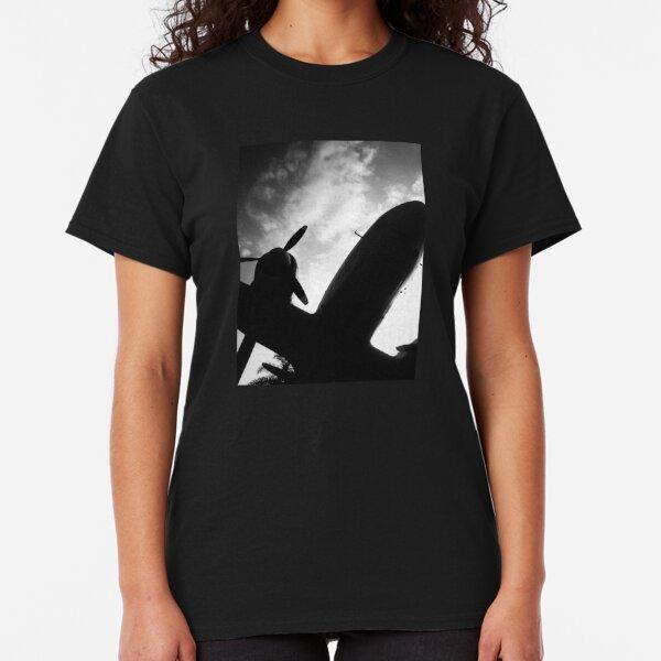 Under an Airplane Classic T-Shirt