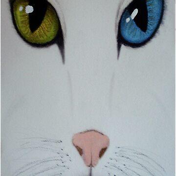 White Cat by deegan