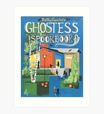 Batty Cracker's Ghostess Spookbook Art Print
