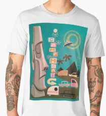 Camp Moai Men's Premium T-Shirt