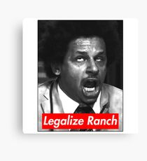 Eric Andre - Legalize Ranch - Red Canvas Print