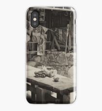 Shed Table And Chairs iPhone Case/Skin