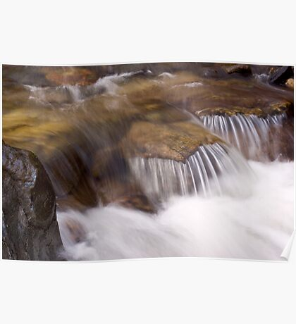 Small Waterfall Poster