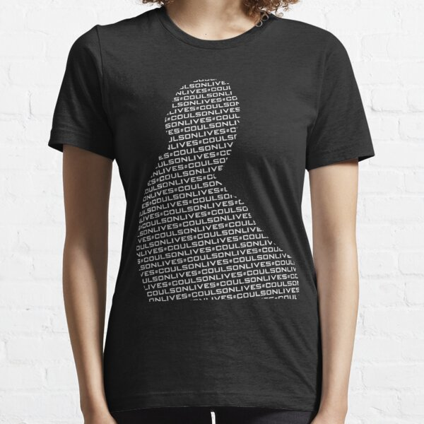 #CoulsonLives - Light on Dark Essential T-Shirt