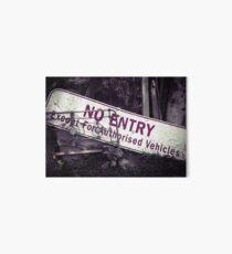 No Entry Sign Art Board