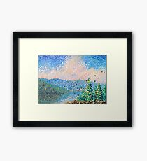 Living Thoughts Framed Print