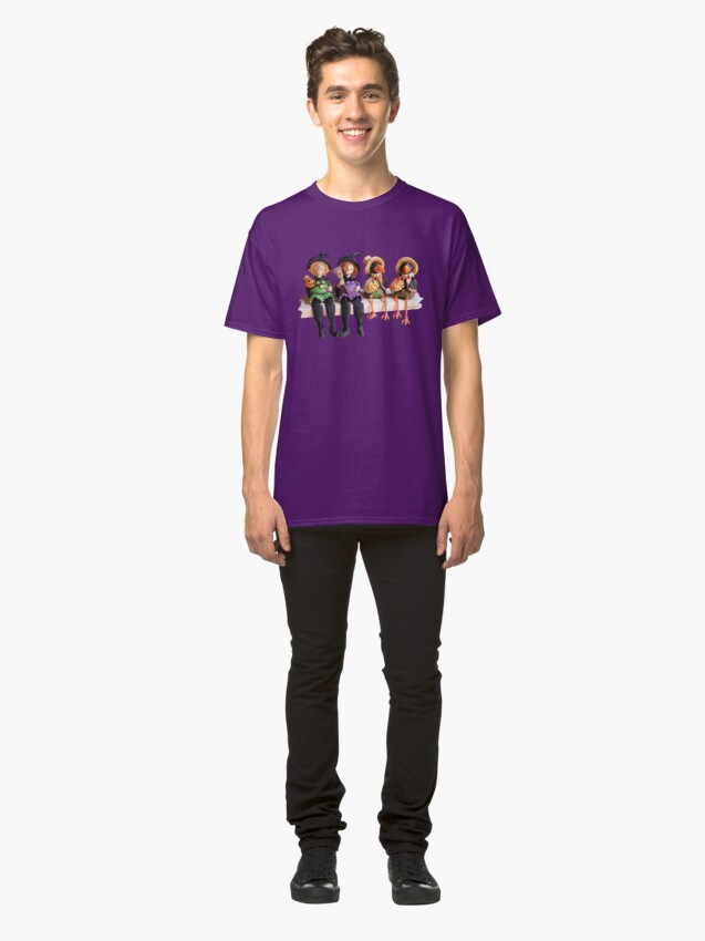 Alternate view of Tell Us A Happy Halloween Story! Classic T-Shirt
