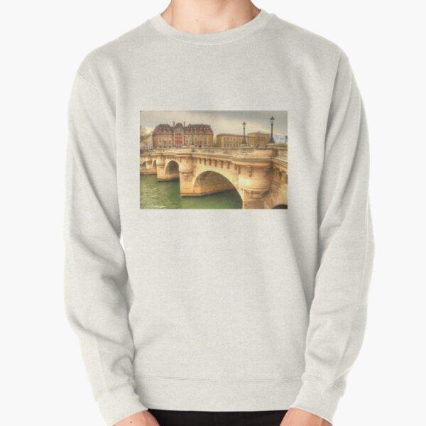Pont Neuf & a beautiful Paris building Pullover Sweatshirt