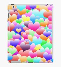 Bubble Hearts Dark iPad Case/Skin