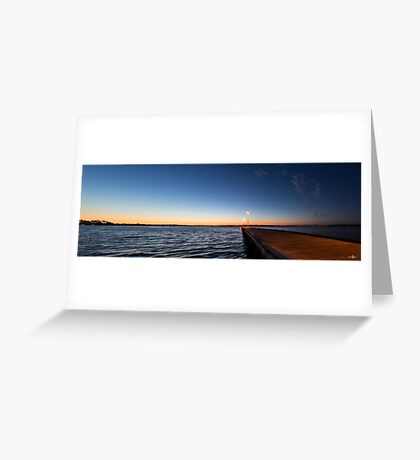 Como Jetty Greeting Card