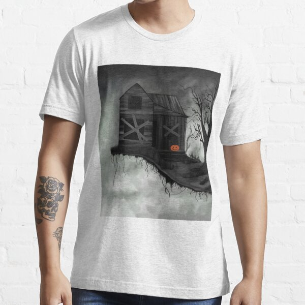 Haunted House and Jolly Pumpkin Essential T-Shirt