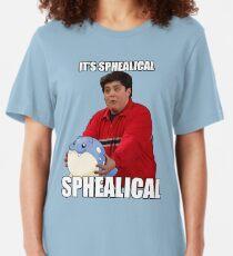 IT'S SPHEALICAL! Slim Fit T-Shirt