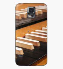 Pipe organ keyboard  Case/Skin for Samsung Galaxy