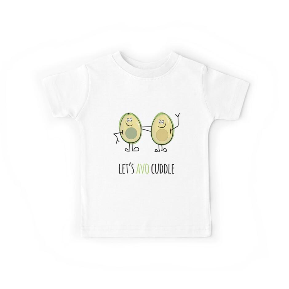Let's Avo Cuddle - Funny Avocado by PopPop BobBob