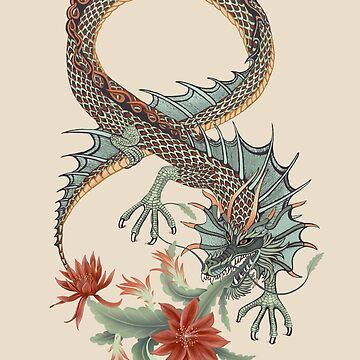 Botanical Dragon Eight  by Ruta