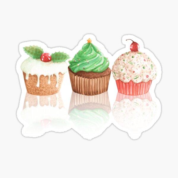 sweet cakes. Sticker