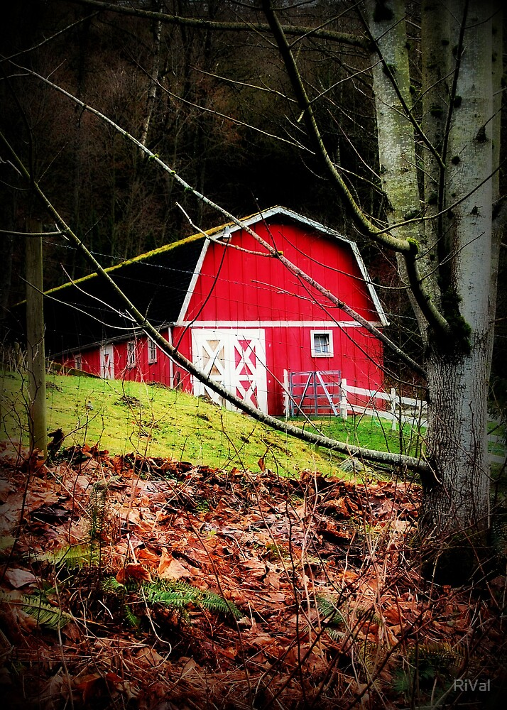 Red Barn by RiVal