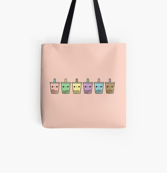 Bubble tea All Over Print Tote Bag