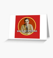 Fred McFeely Rogers Greeting Card