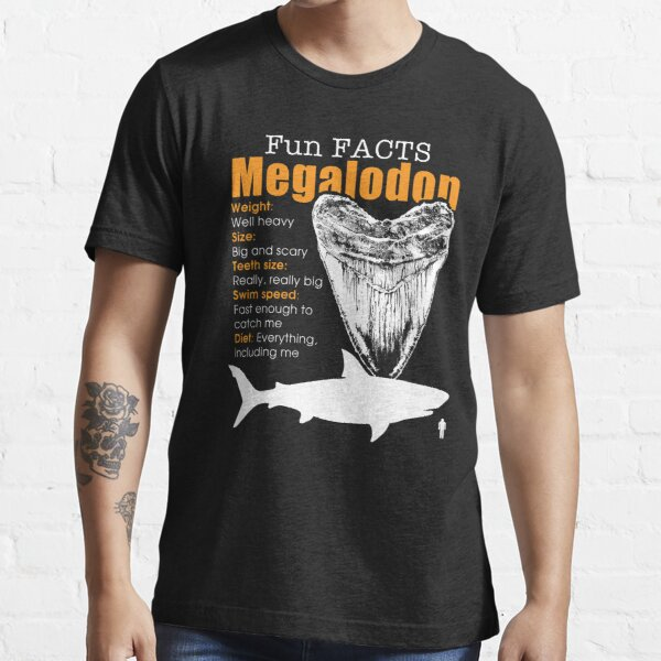 Funny Megalodon tshirt - great gift for shark lovers Essential T-Shirt