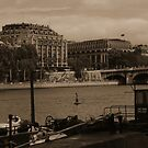 River Seine from the Quays by APhillips