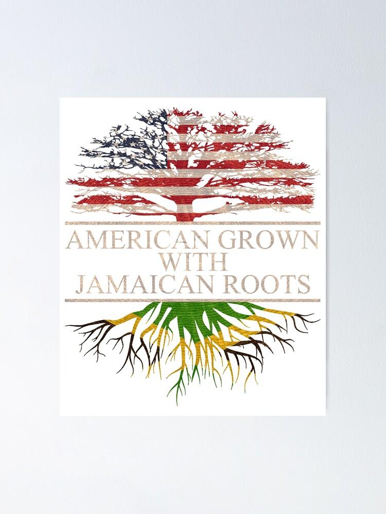 American Grown Jamaican Roots Shoulder Bodysuits as pictureNewborn