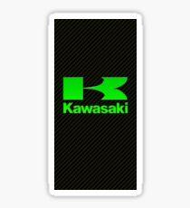KAWASAKI CARBON FIBRE PHONE CASE Sticker