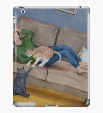 Feline Rivalry iPad Case/Skin