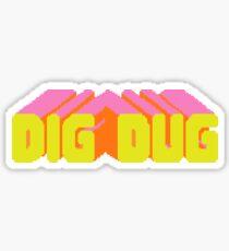 Stranger Things DIGDUG MADMAX Sticker
