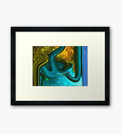 Al Hakam Allah name Painting Framed Print