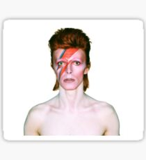 David Bowie - Aladdin Sane Sticker