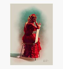 """Blanche Dubois n°4 """"Red"""" Photographic Print"""