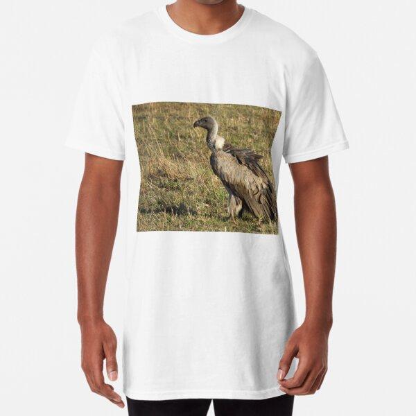 White-Backed Vulture Long T-Shirt