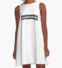 Supersonic - OASIS Band Tribute A-Line Dress