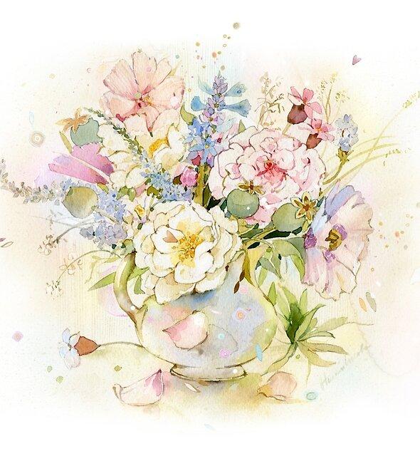 Bouquet by Natalya   Tabatchikova