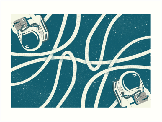 Spaceman by CatMacDesign