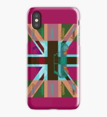 Vintage Cars Pink iPhone Case