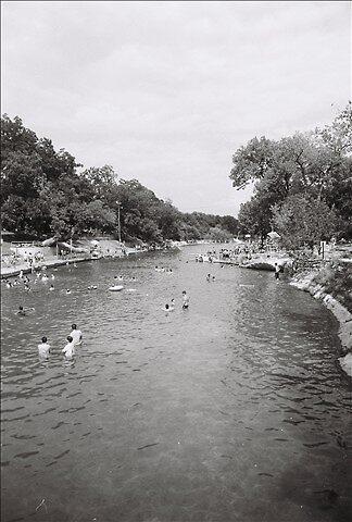 Barton Springs Pool by noahkruger
