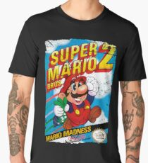 SUPER MARIO BROS 2 NES COVER Men's Premium T-Shirt
