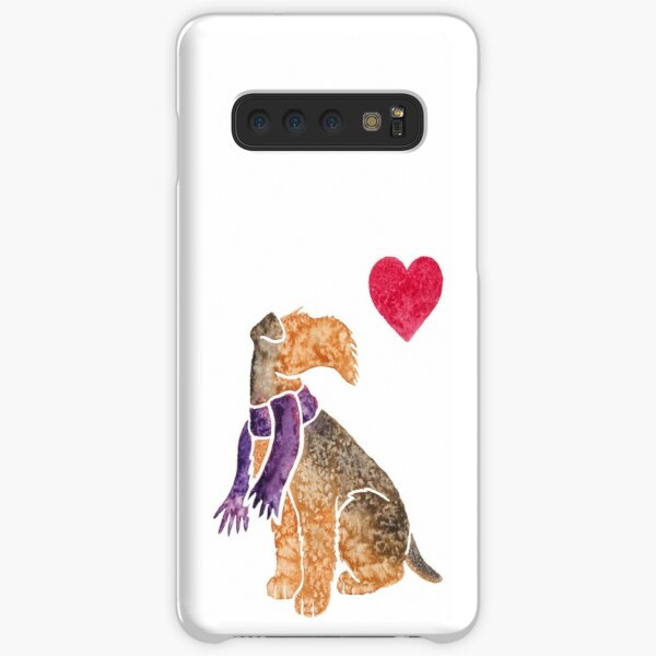 Watercolour Airedale Samsung Galaxy Snap Case