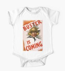 Buster is coming - US Lithograph - 1907 Kids Clothes