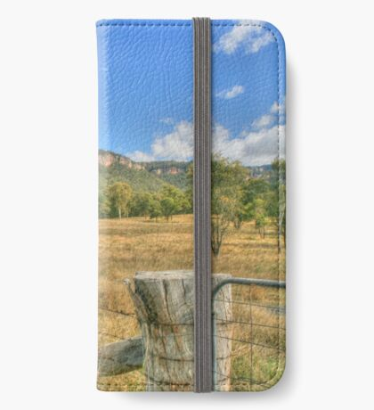 Gardens of Stone National Park iPhone Wallet