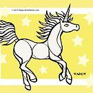 Starlight Uniquorn - #inktober 2017 unicorn illustration by mellierosetest