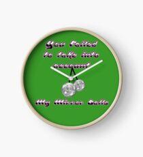 Mr Susan - My mirror balls Clock