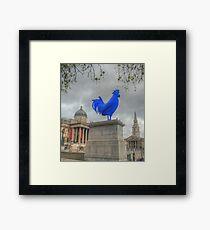 Trafalgar Blue Framed Print