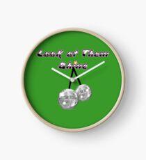 Mr Susan - Look at them shine Clock