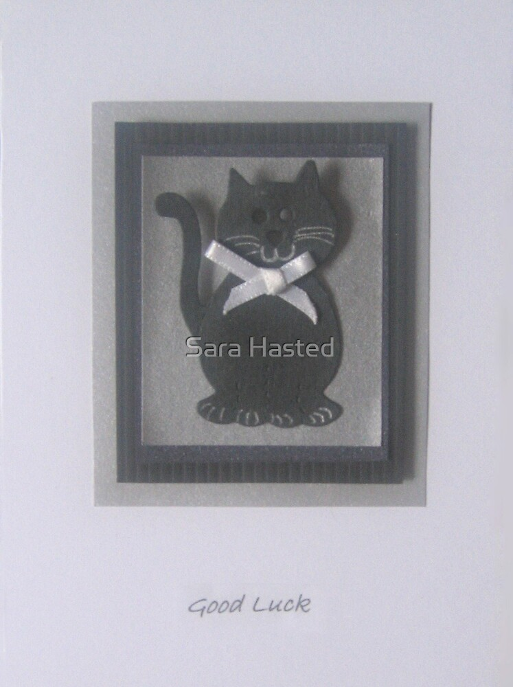 Good Luck Card by Sara Hasted